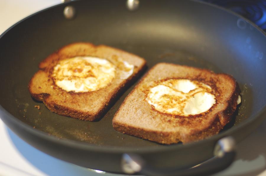 Egg In The Hole Recipe — Dishmaps