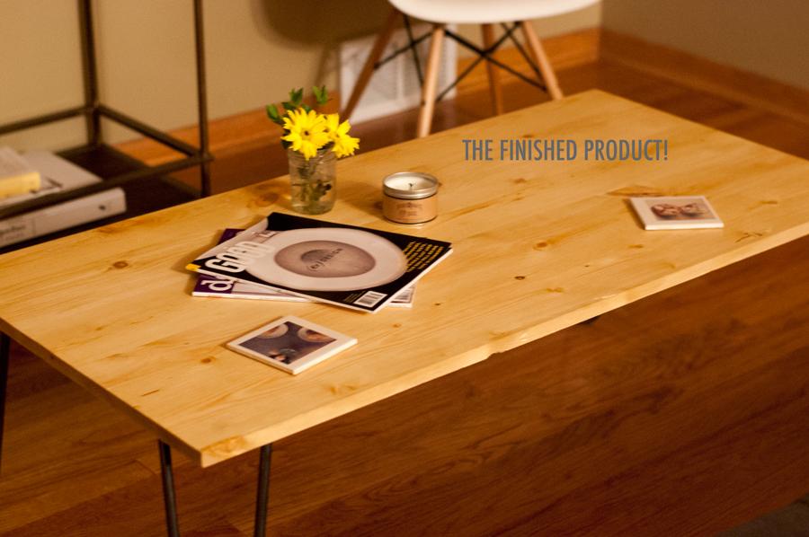 diy} hairpin leg coffee table. » hk in love.