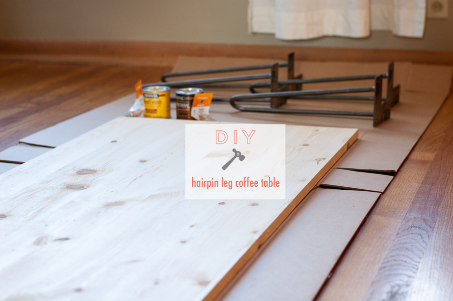 diy} hairpin leg coffee table. » hk in love.