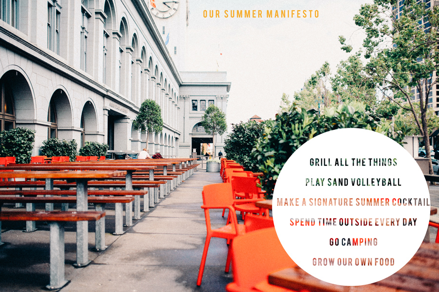 our summer manifesto | hk in love